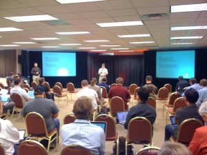 Greg Althaus and Brent Douglas from Dell Data Center Solutions discussing deployment