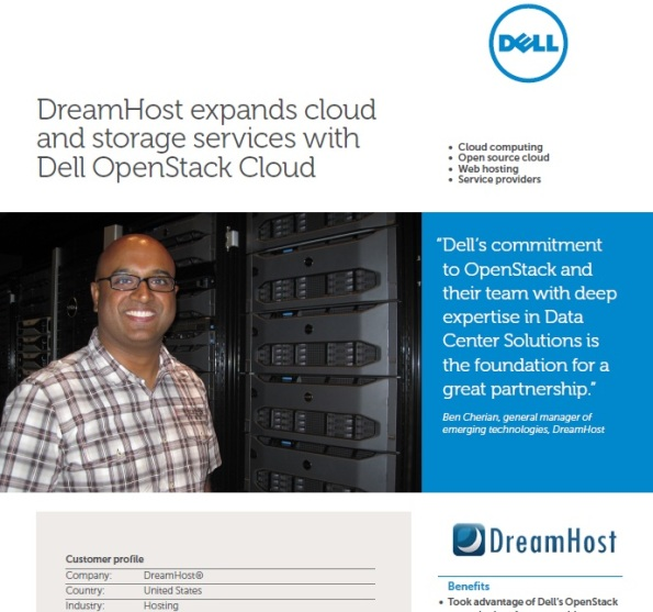 DreamHost and the Dell OpenStack-Powered Cloud Solution